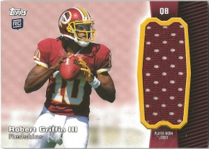 RG3 Topps Patch