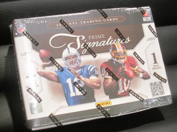 Box Break: 2012 Panini Prime Signatures