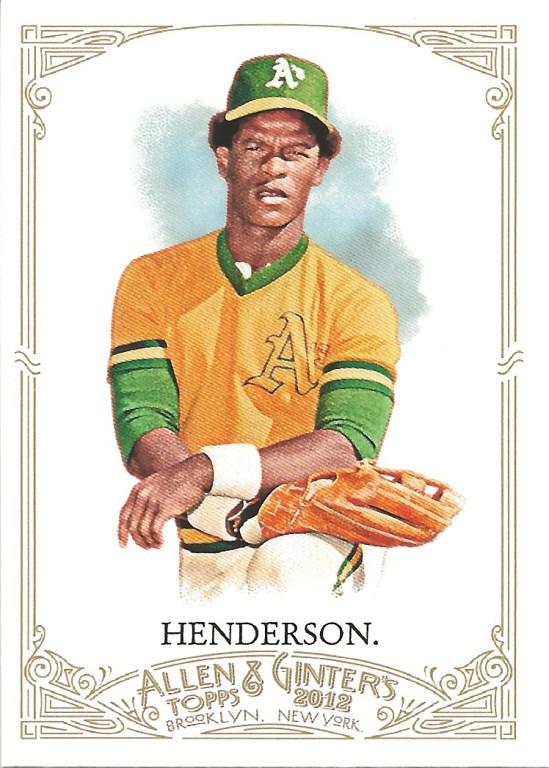 12 AG Rickey Henderson