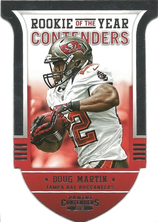 12 PC Doug Martin ROY Contenders
