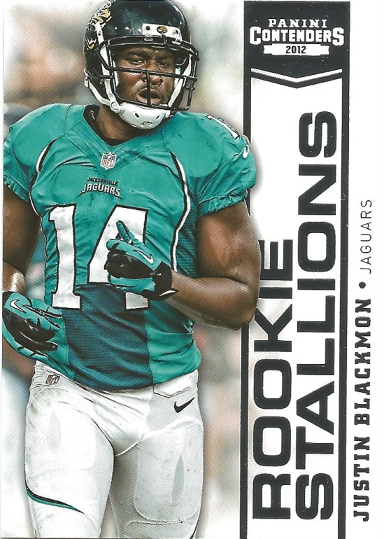 12 PC Justin Blackmon Rookie Stallions