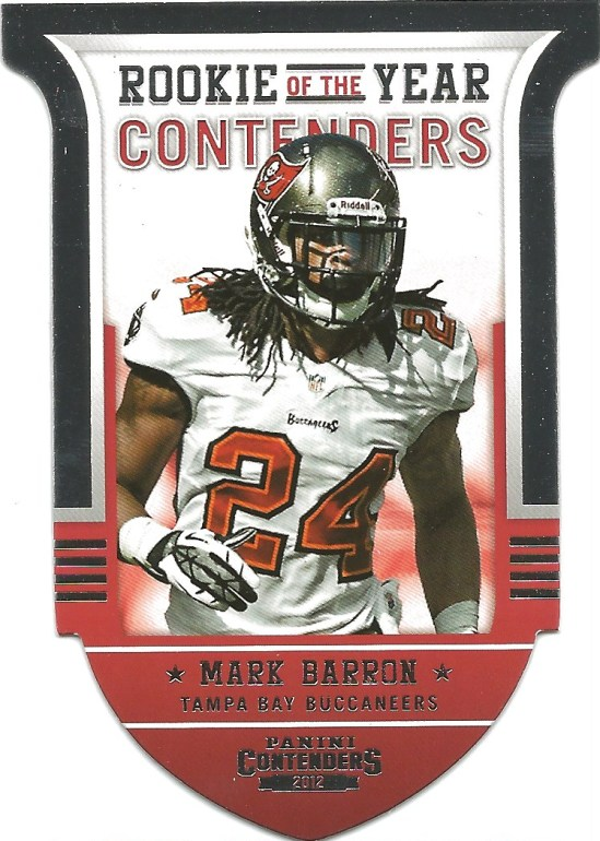 12 PC Mark Barron ROY Contenders