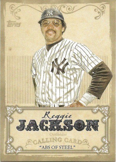 13 T Reggie Jackson Calling Card