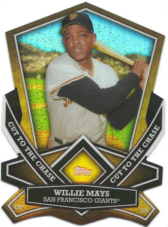 13 T Willie Mays Cut to the Chase