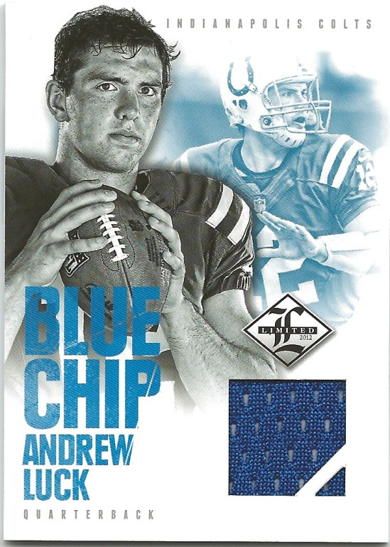 B1 Andrew Luck Blue Chip jersey 5:99