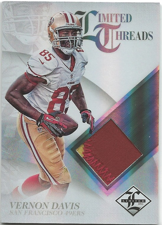B1 Vernon Davis Limited Threads Jersey 14:25