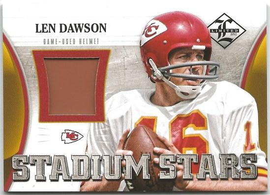 B2 Len Dawson Stadium Stars Helmet13:55