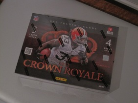 Crown Royale unopened