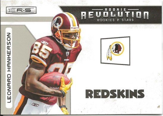 Leonard Hankerson Rookie Revolution