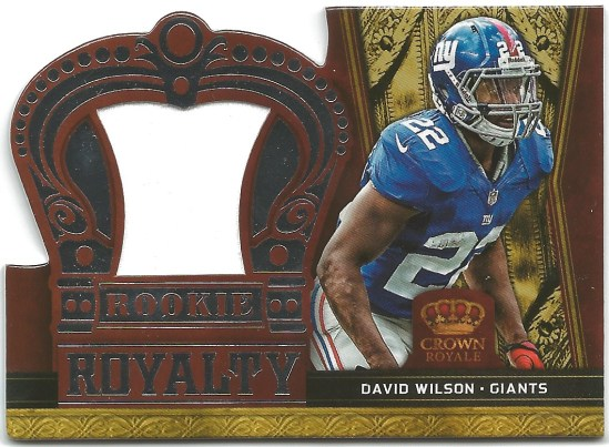 P4 David Wilson Jersey Rookie Royalty1