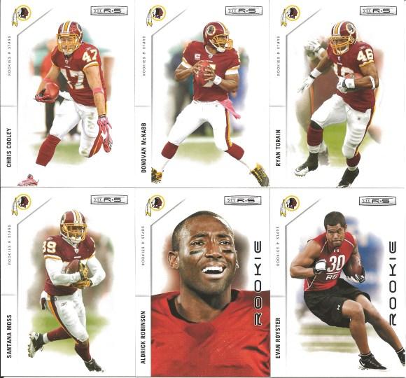 Redskins cards