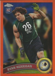 11 TC Ryan Kerrigan Orange Refractor