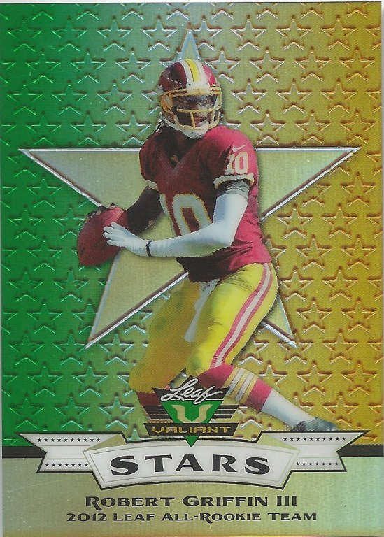 12 LV Robert Griffin III All Rookie Team