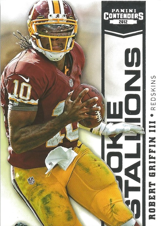 12 PC Robert Griffin III Rookie Stallions