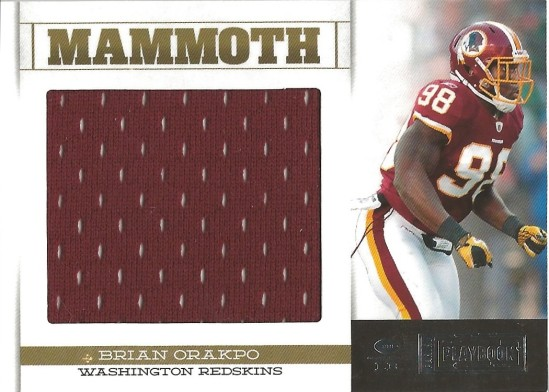12 PP Brian Orakpo Mammoth Jersey 41:99