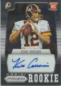 12 PP Kirk Cousins Auto 204:499