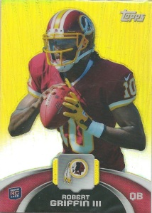 12 Robert Griffin III Game Time Giveaway