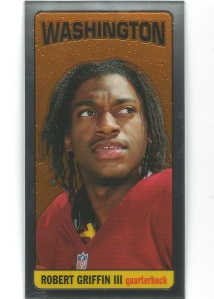 12 TC Robert Griffin III Chrome Mini