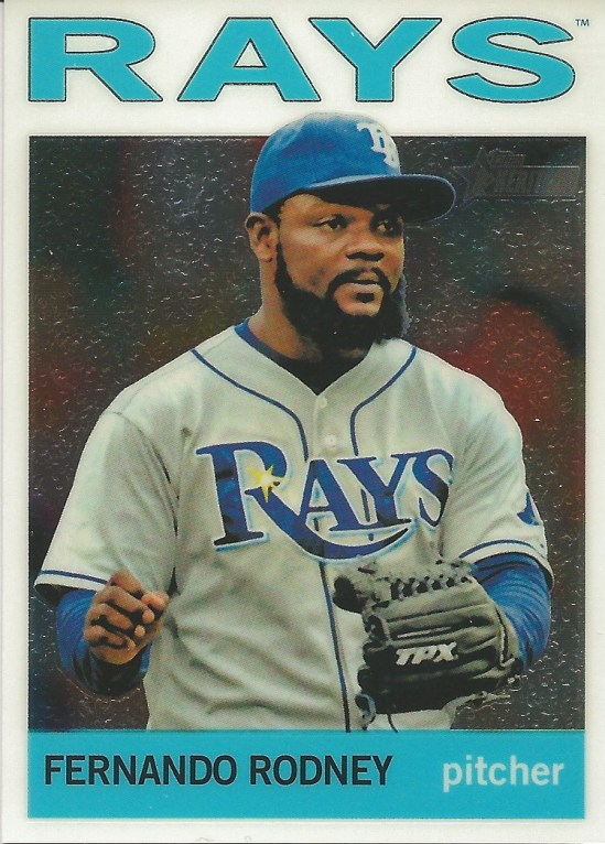 12 TH Fernando Rodney Chrome 88:999