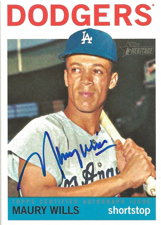12 TH Maury Wills Auto