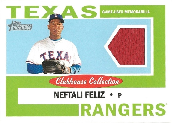 12 TH Neftali Perez Clubhouse Collection Jersey