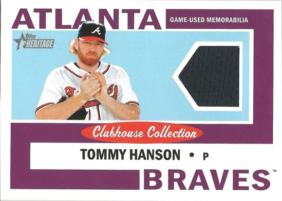 12 TH Tommy Hanson Clubhouse Collection Jersey