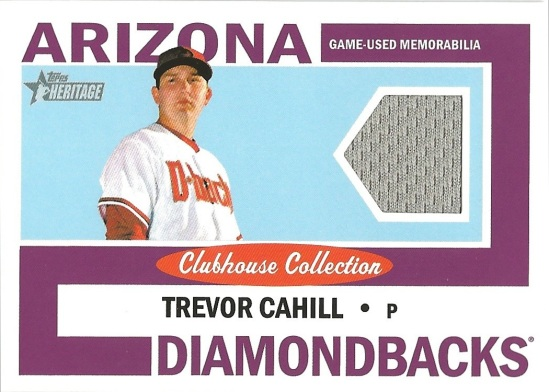 12 TH Trevor Cahill Clubhouse Collection Jersey