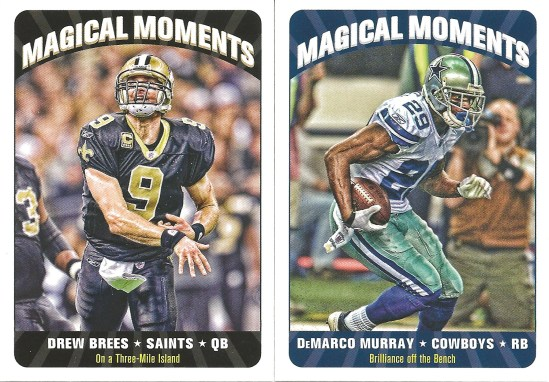 12 TM Brees and Murray Magical Moments