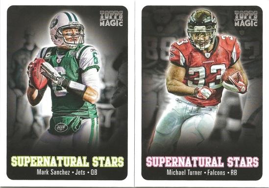 12 TM Sanchez and Turner Supernatural Stars