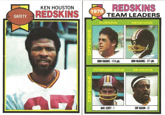 79 T Houston and Riggins Leaders