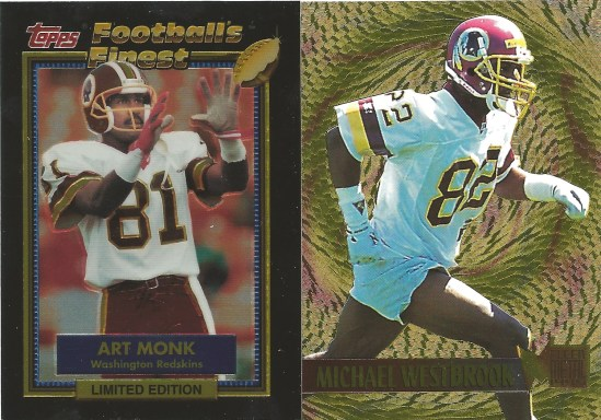 92 TF Art Monk 95 FG Michael Westbrook