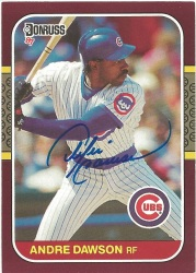 1987 Donruss Opening Day Andre Dawson