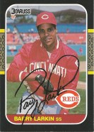 1987 Donruss Barry Larkin