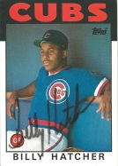 1986 Topps Billy Hatcher