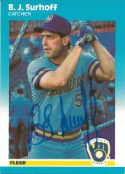 1987 Fleer Update BJ Surhoff