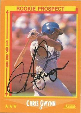1988 Score Chris Gwynn