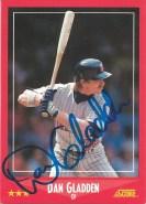 1988 Score Dan Gladden