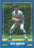 1988 Score Dave Anderson