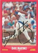 1988 Score Dave Martinez