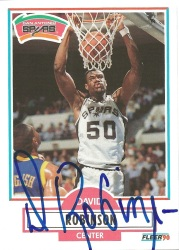 1990-91 Fleer David Robinson
