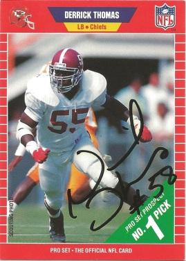1989 Pro Set Derrick Thomas