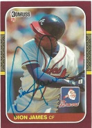 1987 Donruss Opening Day Dion James