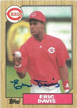 1987 Topps Eric Davis