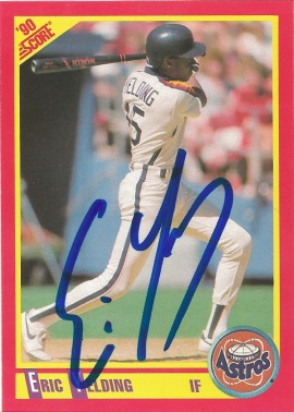 1991 Score Eric Yielding