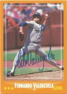 1988 Score Fernando Valenzuela