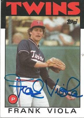 1986 Topps Frank Viola