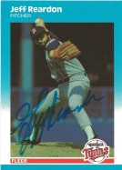1987 Fleer Jeff Reardon