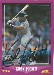 1988 Score Kirby Puckett