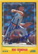 1988 Score Mike Henneman