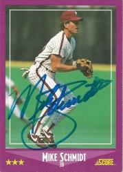 1988 Score Mike Schmidt